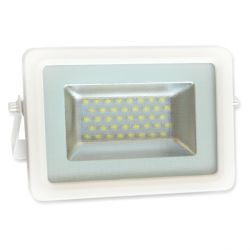 Projecteur Led 20W Ultra-fin SMD I-DESIGN 2 Blanc Chaud - IP65