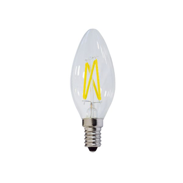 Ampoule Flamme Led C35 4W E14 Blanc Chaud Dimmable class=