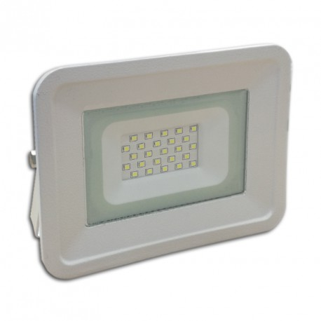 Projecteur Led 20W Ultra-fin SMD Classique Blanc Froid - IP65