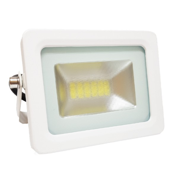 Projecteur Led 10W Ultra-fin SMD I-DESIGN 2 Blanc Naturel - IP65 class=